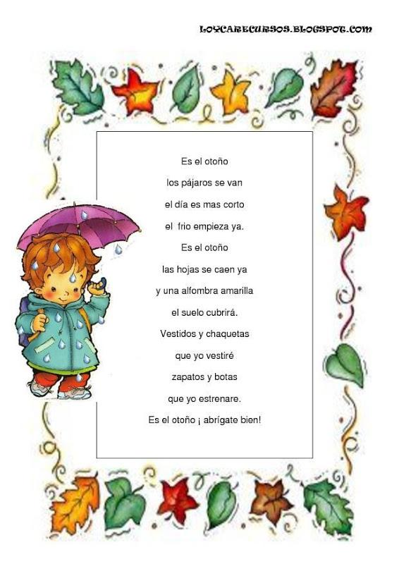 poesias de otono 6 poemas y rimas infantiles del otono para ninos
